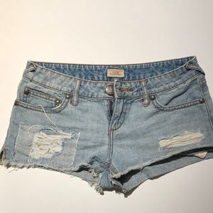 Free People Cut Off Shorts Size 28